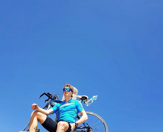 Cycling to Pico Veleta
