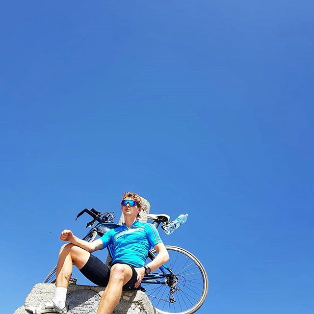 Cycling to Pico Veleta