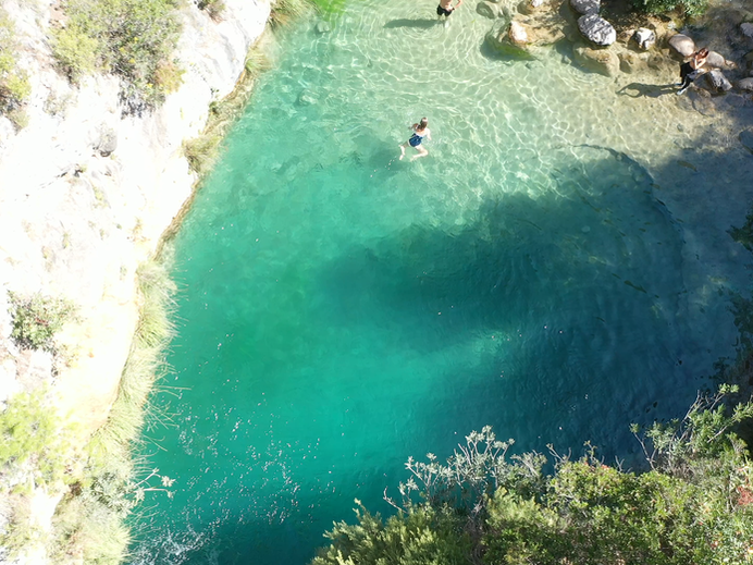 Swimming in the Rio Verde