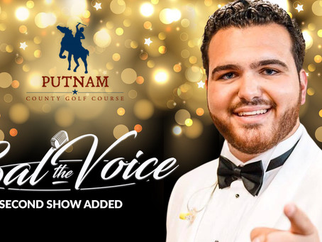 """SECOND SHOW ADDED for Sal """"The Voice"""" Valentinetti from America's Got Talent"""