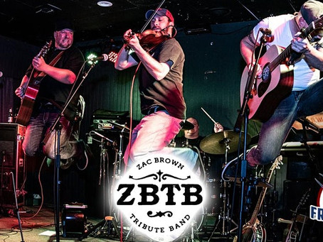 ZBTB, the BEST Zac Brown Tribute Band on Friday, August 20th at Putnam County Golf Course