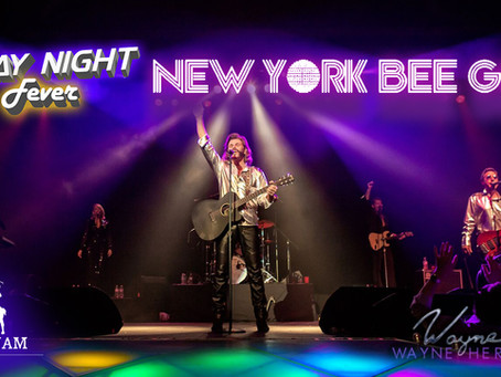 FRIDAY NIGHT FEVER with the New York Bee Gees on July 30th!