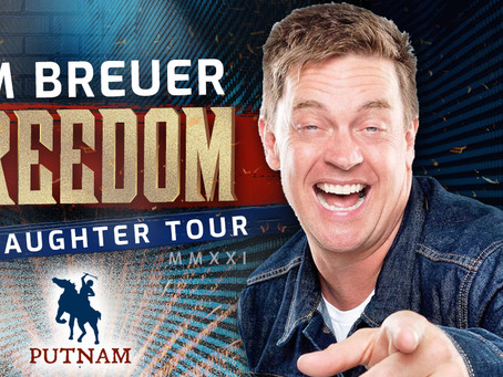 See Jim Breuer LIVE at Putnam on his Freedom of Laughter Tour on Saturday, November 20th!