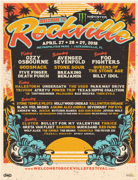 Welcome To Rockville 2018