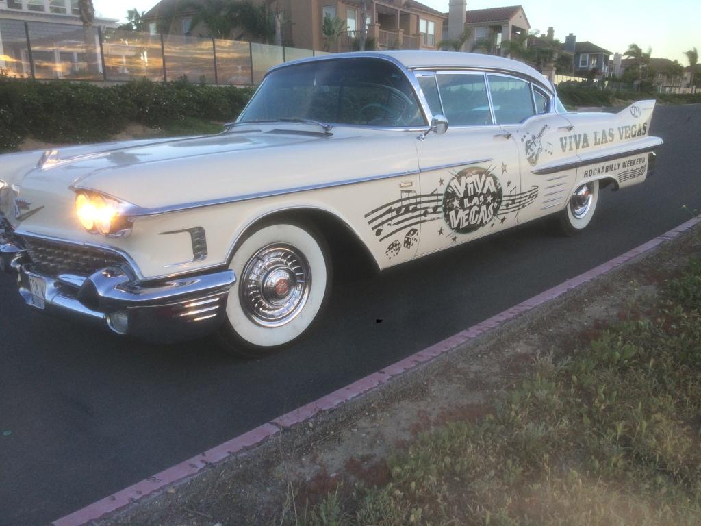 Viva Las Vegas car