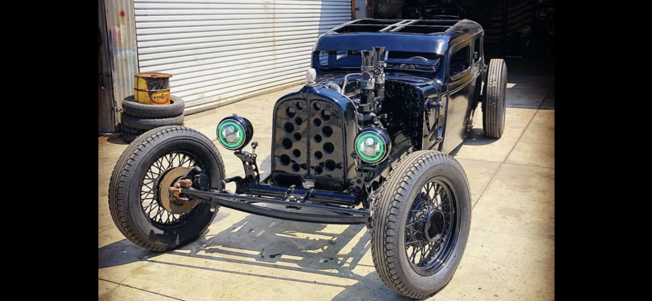 1934 chevy rat rod sedan
