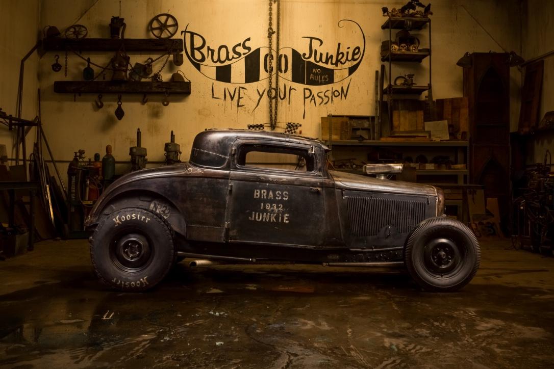 1932 3 window coupe