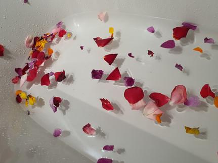 Bain aux huiles et aux fleurs du REBOZO