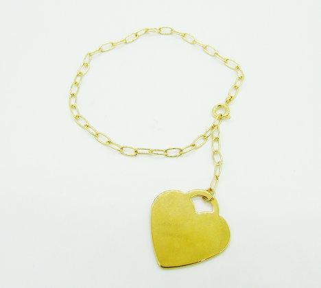 Bracelet Lock plaqué or
