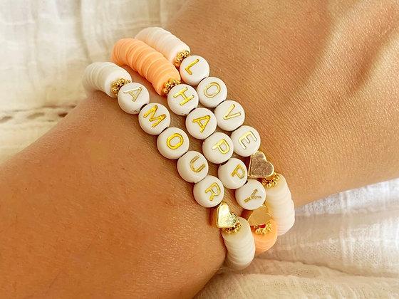 Bracelet COLOR or plaqué or