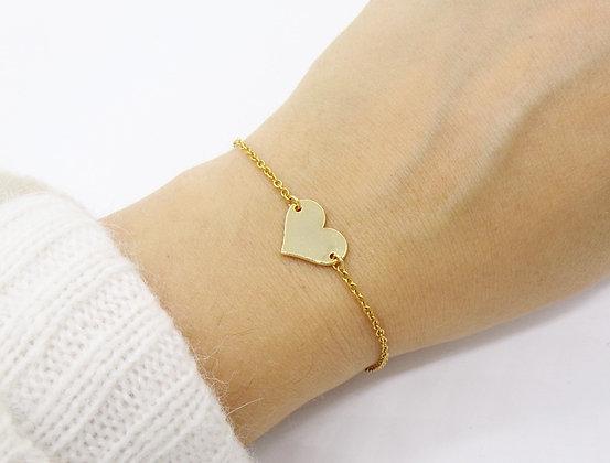 Bracelet Romance plaqué or