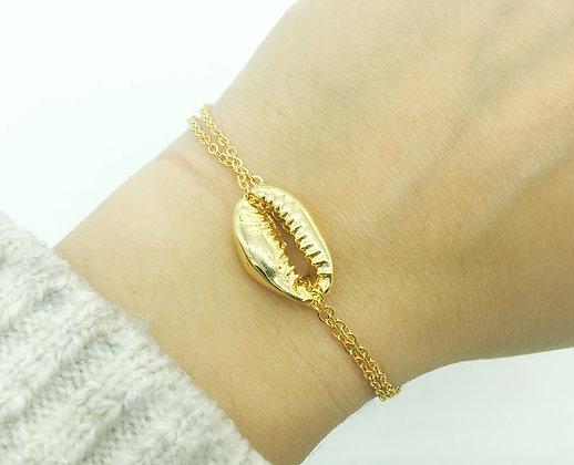 Bracelet Bali or plaqué or