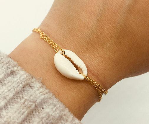 Bracelet Bali plaqué or / argent