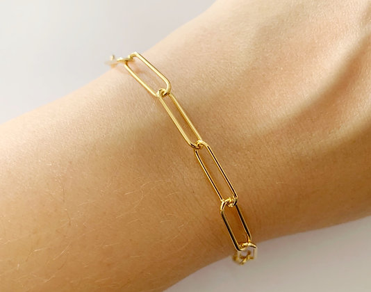 Bracelet Janis plaqué or