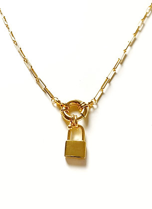 Collier SECRET GM plaqué or