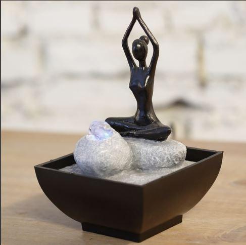 Fontaine Yoga - Quantité: 9