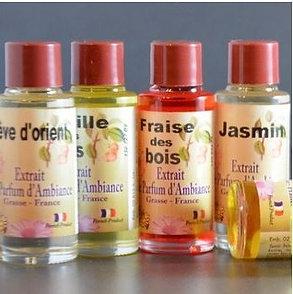 - Extraits de parfums d'ambiance - Fabriqués à Grasse