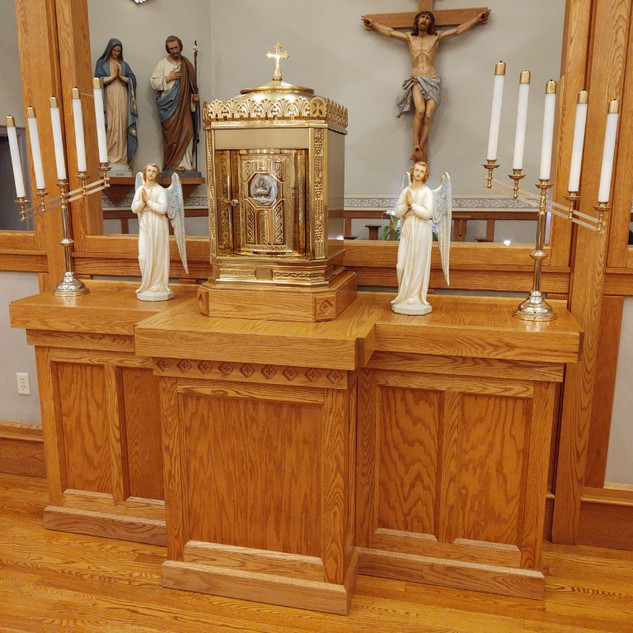 new cabinet for tabernacle