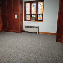 server sacristy carpeted