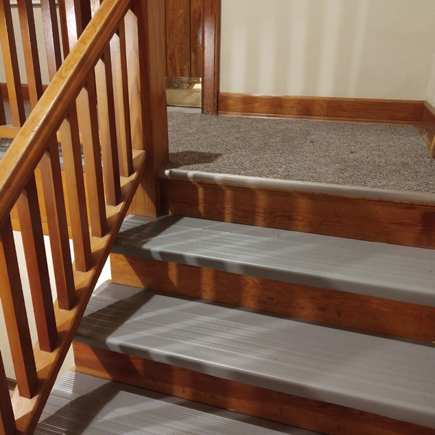 new stair treads