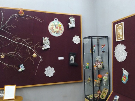 Зимняя сказка в Музее народного творчества