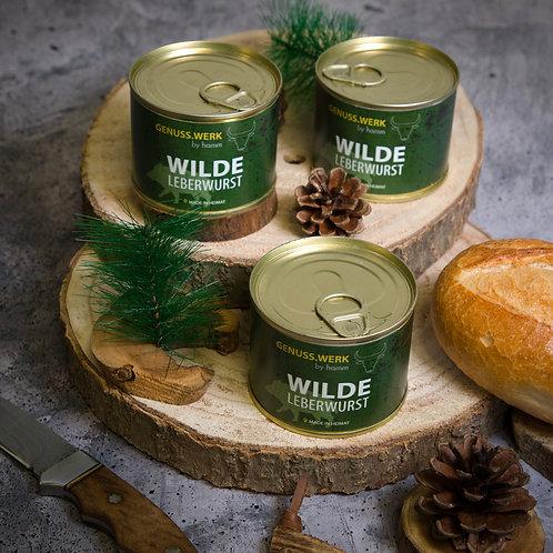 Wilde Leberwurst in Dosen, 200g