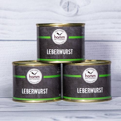 Leberwurst in Dosen, 200g