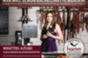 Azubi gesucht, Fleischereifachverkäuferin