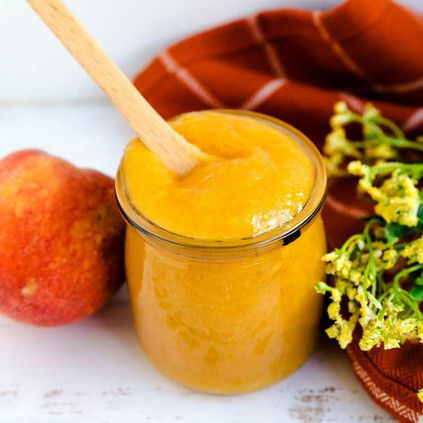 Peach Pulp Sauce