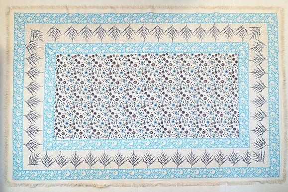Blue Mini Flower 5x8
