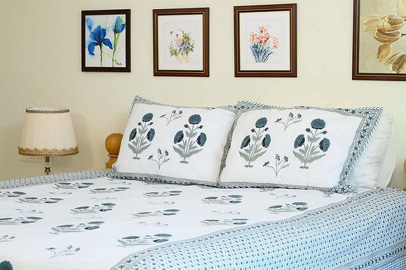 Teel Blue  BedSheet
