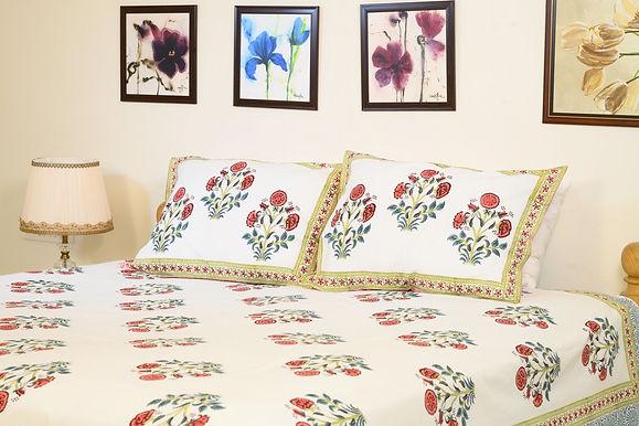 Red Poppy Bedsheet