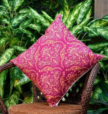 Decorative Pillow Case (Pink Honey Brown)