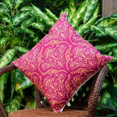 Decorative Pillow Case (Pink Honey Brown)