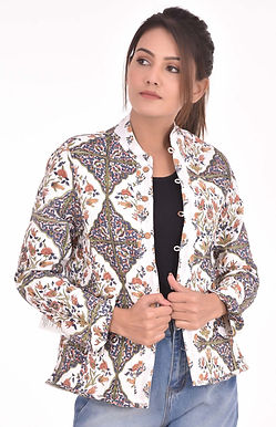 Brown Rose Jacket