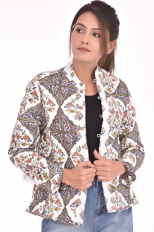 Brown Rose Jacket