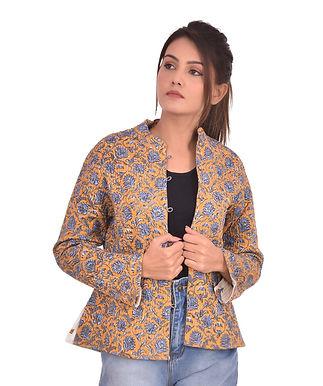 Blue Brown Jacket