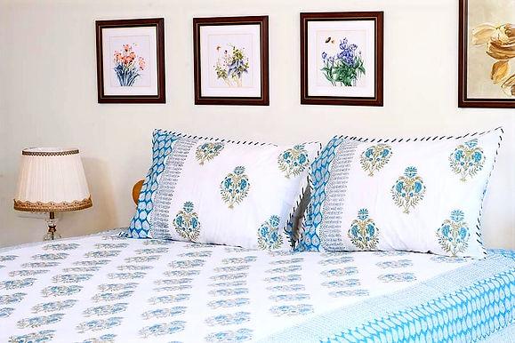 Sea Blue Bedsheet
