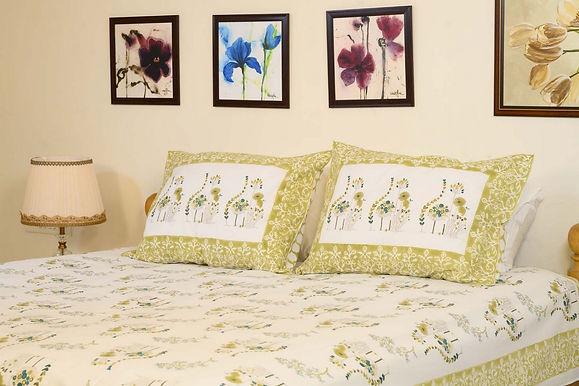 Olive Green  Bedsheet