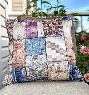 Velvet Decorative Pillow case (Bohemian Purple)