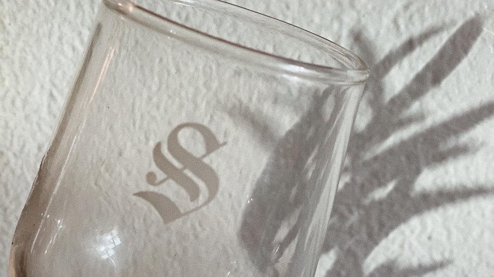 """Set of """"S"""" tasting glasses"""
