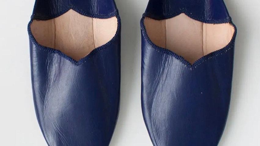Moroccan Slippers, color indigo | SZ 8W