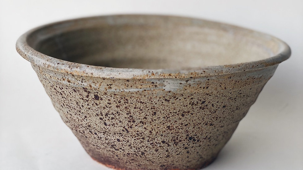 Ceramic studio bowl