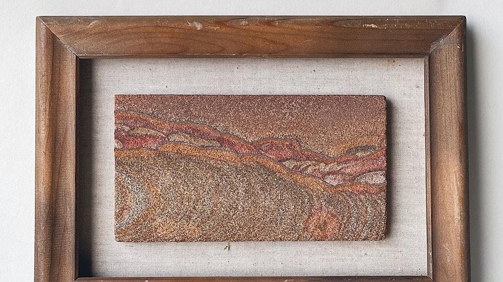 Framed Sandstone Picture