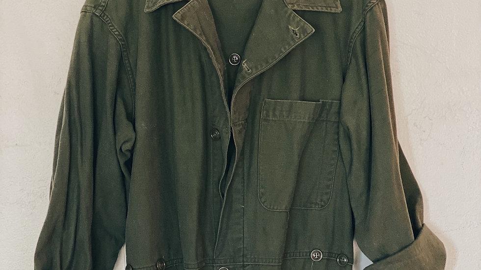 Military coveralls 100% cotton
