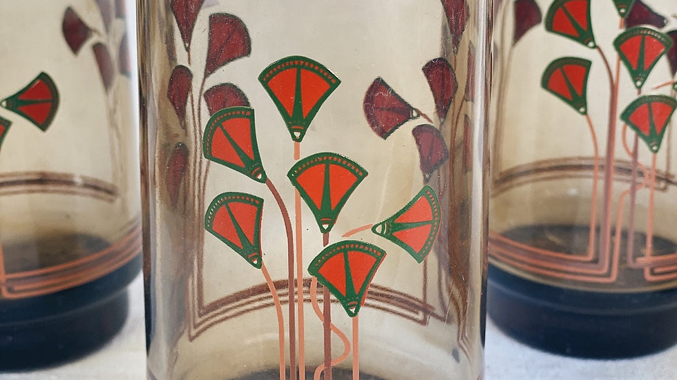 Art Deco MCM glasses