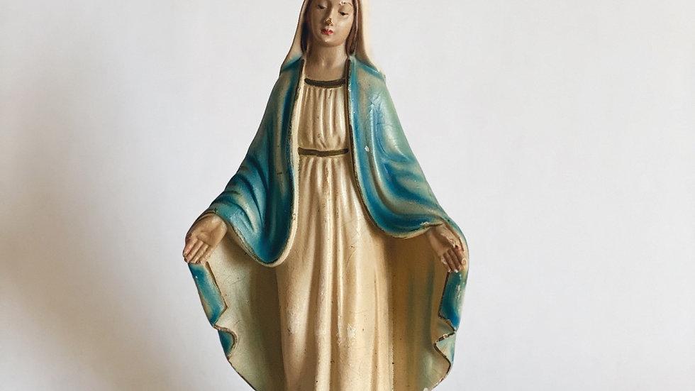 Plastic Virgin Mary made Italy