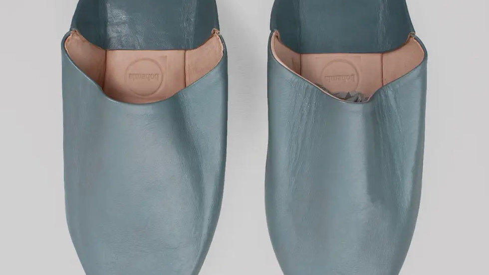 Moroccan Slippers, color grey | SZ 9W