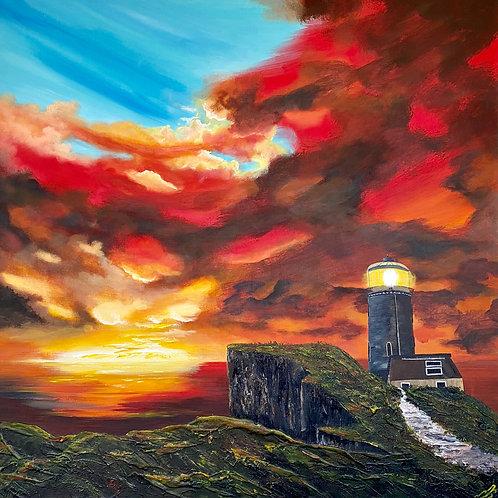 Bell Tout Lighthouse 90x90x3.5 cm