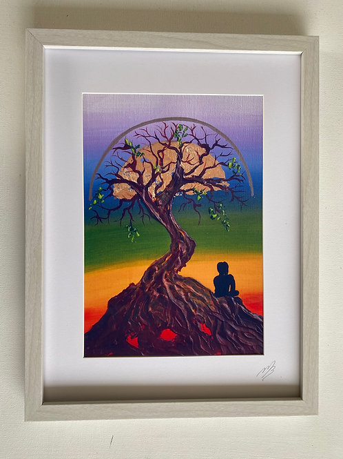 Tree of Life A4 Framed Print